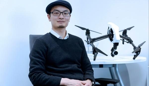 ▲ DJI 창업자 프랭크 왕(Frank Wang, 汪滔)은 드론업계의 스티브잡스로 불린다. 애플이 스마트폰 시장을 열었던 것처럼 DJI가 드론 시장을 개척하면서 시장을 선도하는 기술력과 빼어난 디자인의 제품을 연이어 내놓고 있다.